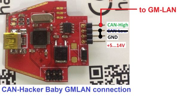 CAN-Hacker-Baby-GMLAN-connection