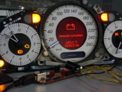 Mercedes Benz Insrument cluster CAN bus