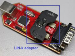 LIN bus adapter LIN-k