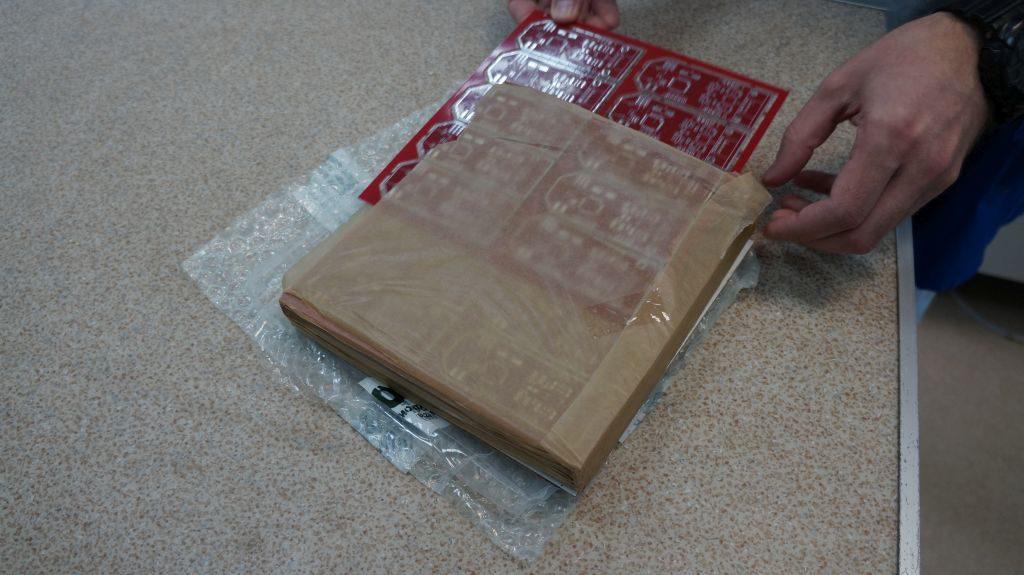 8 распаковка плат
